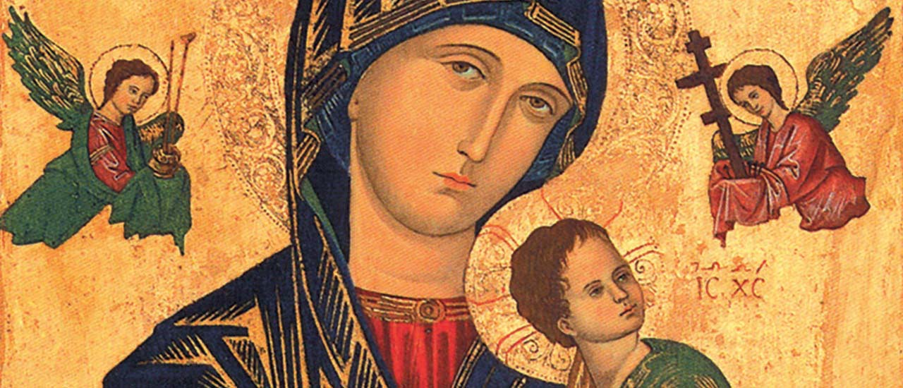 the Icon of Our Mother of Perpetual Help